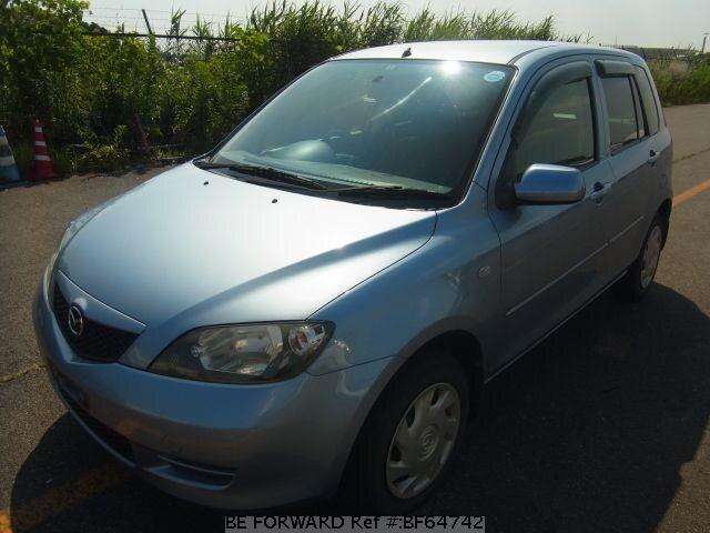 Used 2003 MAZDA DEMIO BF64742 for Sale