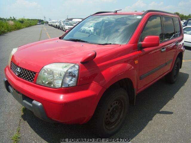 Used 2002 NISSAN X-TRAIL BF64706 for Sale