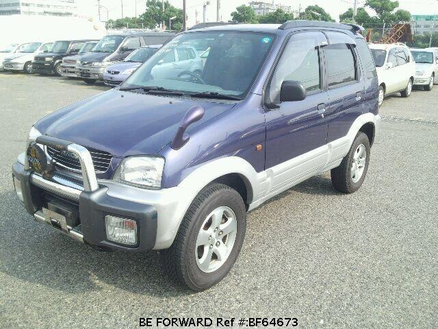 Used 1997 DAIHATSU TERIOS BF64673 for Sale