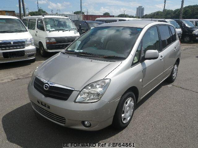 Used 2001 TOYOTA COROLLA SPACIO BF64861 for Sale