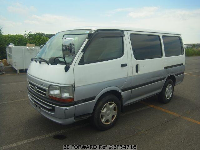Used 2003 TOYOTA HIACE VAN BF64716 for Sale