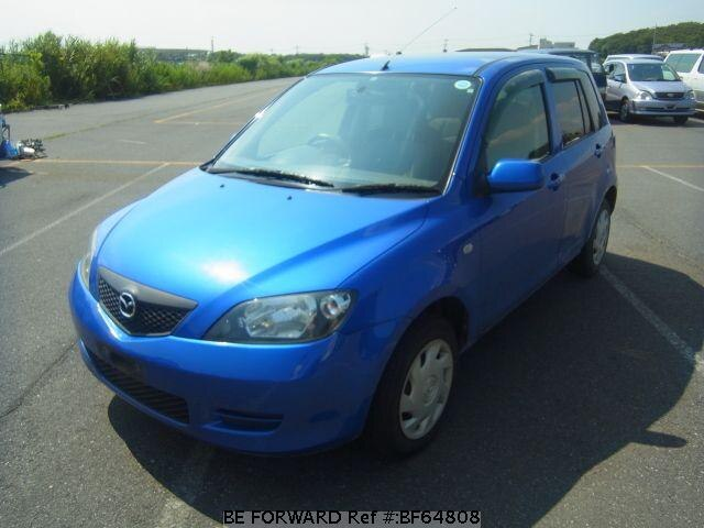 Used 2002 MAZDA DEMIO BF64808 for Sale