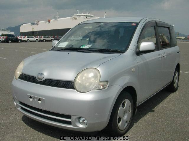 Used 2003 TOYOTA SIENTA BF65083 for Sale