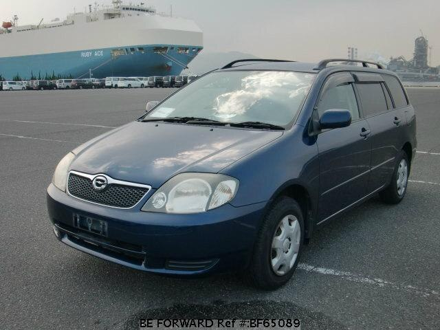 Used 2001 TOYOTA COROLLA FIELDER BF65089 for Sale