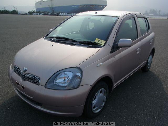 Used 2001 TOYOTA VITZ BF65204 for Sale