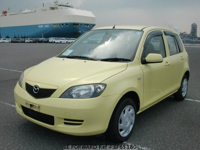 Used 2003 MAZDA DEMIO BF65180 for Sale