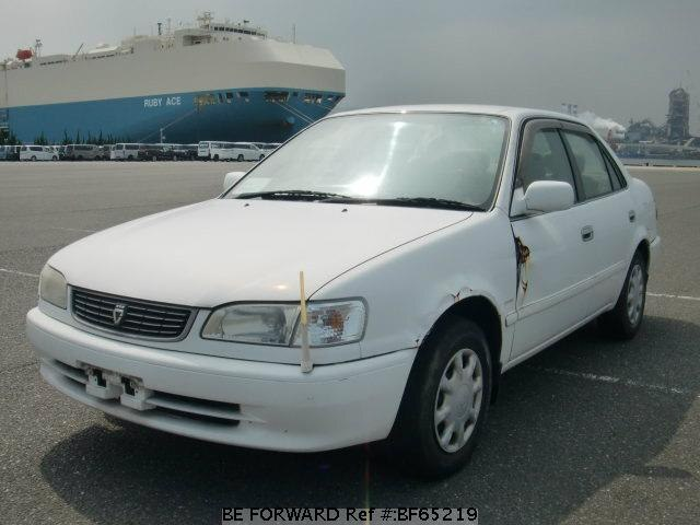 Used 2000 TOYOTA COROLLA SEDAN BF65219 for Sale