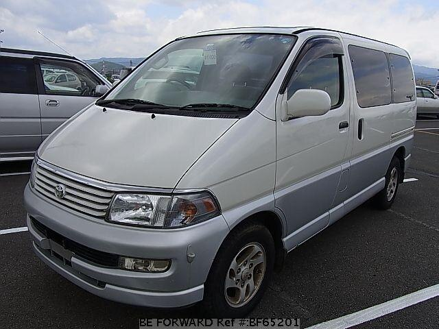 Used 1997 TOYOTA REGIUS WAGON BF65201 for Sale