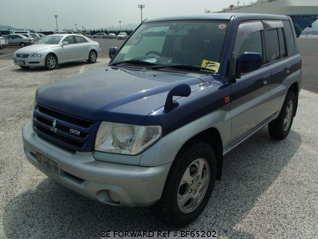 Used 2000 MITSUBISHI PAJERO IO BF65202 for Sale