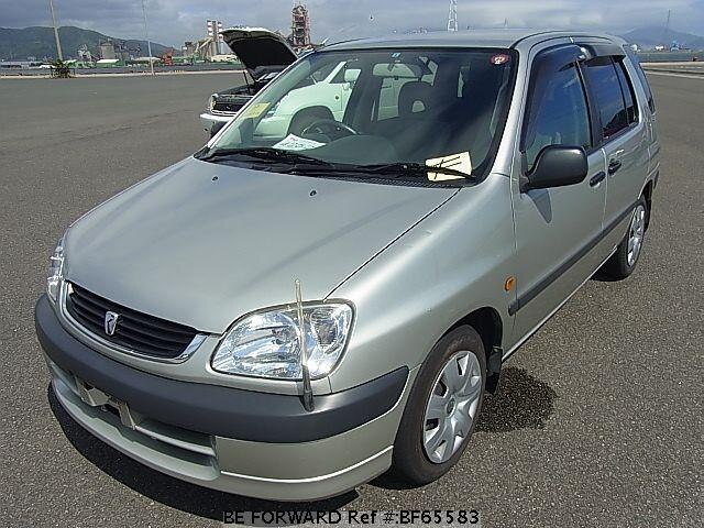 Used 2001 TOYOTA RAUM BF65583 for Sale
