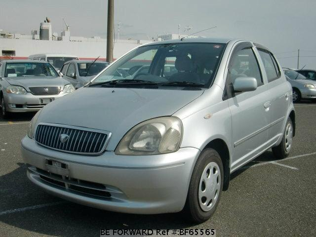 Used 2001 TOYOTA VITZ BF65565 for Sale