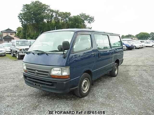Used 2003 TOYOTA HIACE VAN BF65458 for Sale
