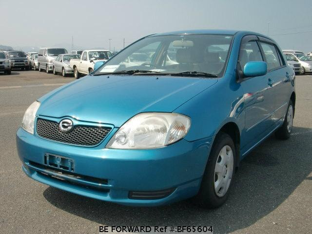 Used 2001 TOYOTA COROLLA RUNX BF65604 for Sale