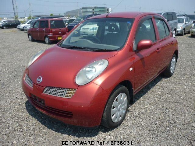 Used 2003 NISSAN MARCH BF66061 for Sale