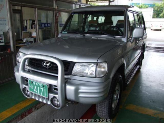 Used 2000 HYUNDAI GALLOPER IS00404 for Sale