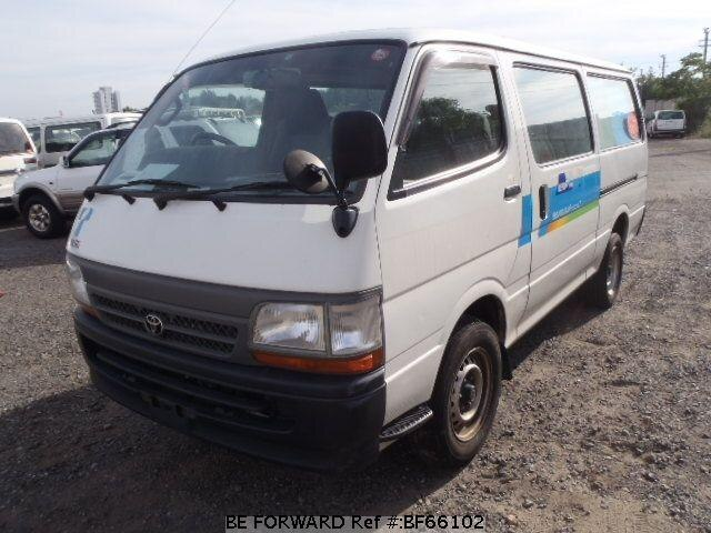 Used 2003 TOYOTA HIACE VAN BF66102 for Sale