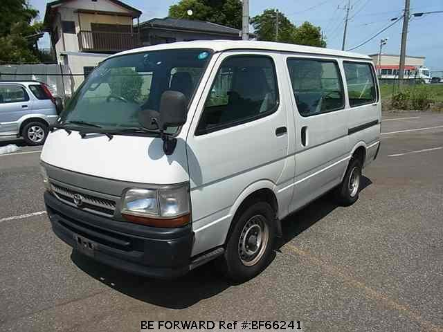 Used 2000 TOYOTA HIACE VAN BF66241 for Sale