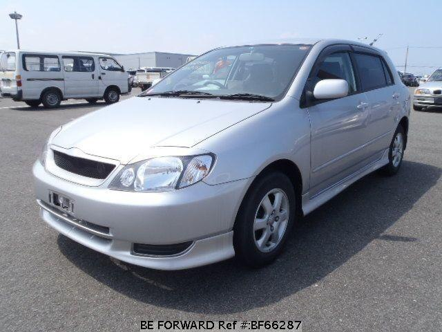 Used 2001 TOYOTA COROLLA RUNX BF66287 for Sale