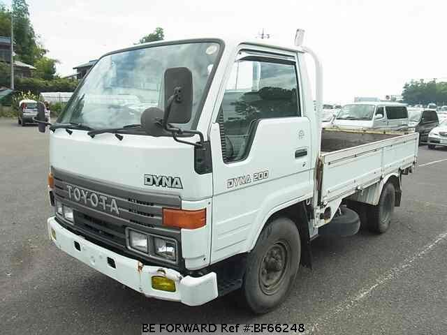 used 1992 toyota dyna truck u bu61 for sale bf66248 be forward. Black Bedroom Furniture Sets. Home Design Ideas