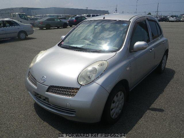 Used 2003 NISSAN MARCH BF66294 for Sale