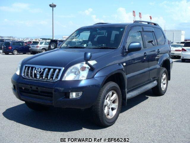 Used 2003 TOYOTA LAND CRUISER PRADO BF66282 for Sale