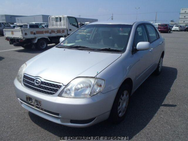 Used 2002 TOYOTA COROLLA SEDAN BF66271 for Sale