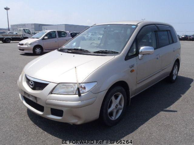 Used 2001 MAZDA PREMACY BF66264 for Sale