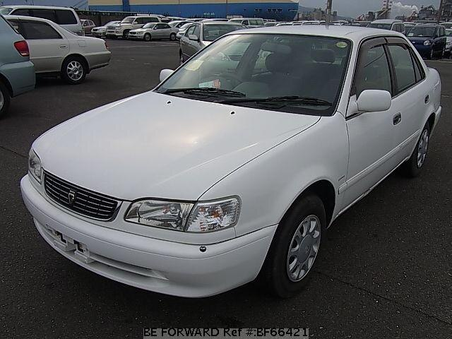 Used 2000 TOYOTA COROLLA SEDAN BF66421 for Sale
