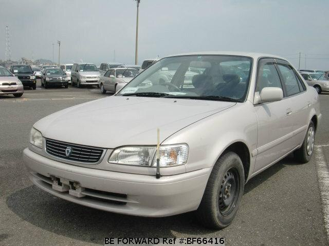 Used 1999 TOYOTA COROLLA SEDAN BF66416 for Sale