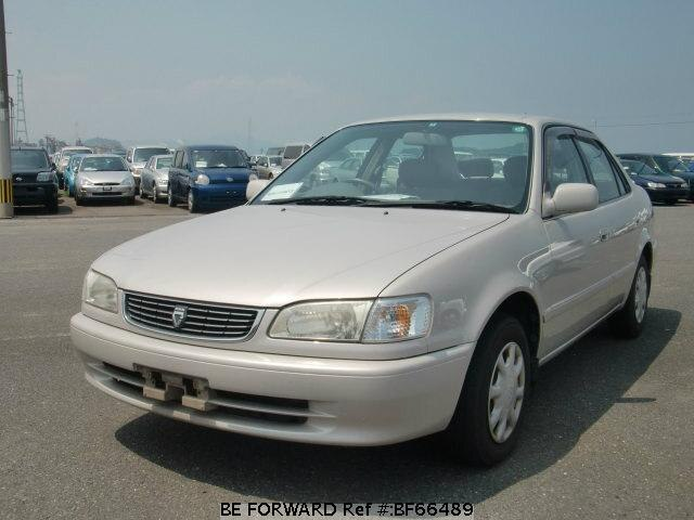 Used 1998 TOYOTA COROLLA SEDAN BF66489 for Sale