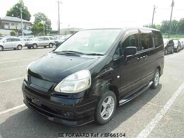 Used 2001 NISSAN SERENA BF66504 for Sale