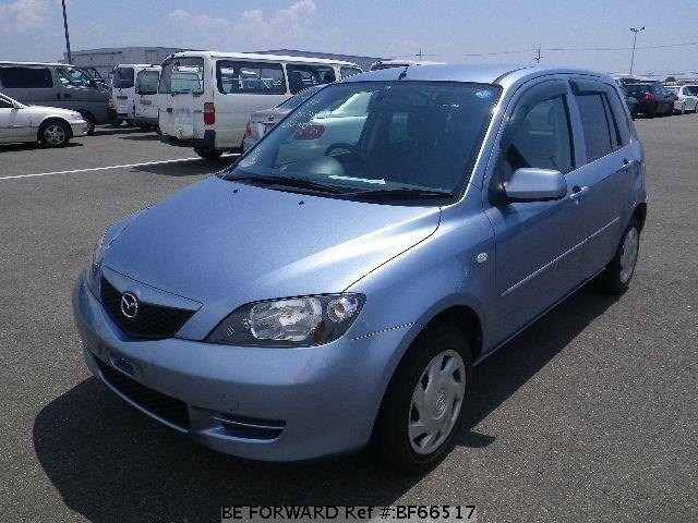 Used 2003 MAZDA DEMIO BF66517 for Sale