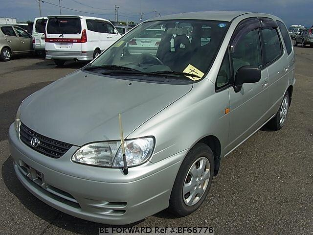 Used 1999 TOYOTA COROLLA SPACIO BF66776 for Sale