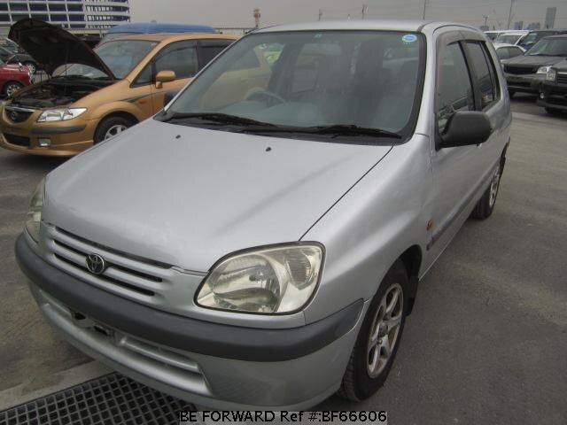 Used 1999 TOYOTA RAUM BF66606 for Sale