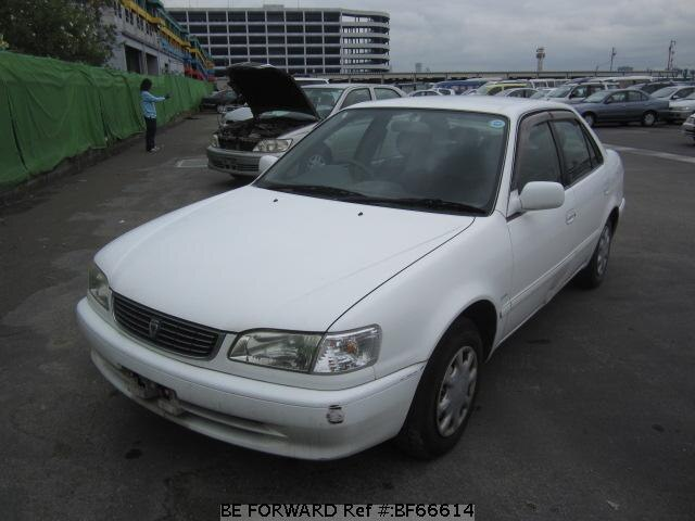 Used 1998 TOYOTA COROLLA SEDAN BF66614 for Sale
