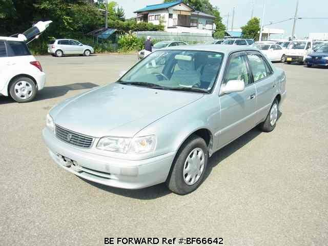Used 2000 TOYOTA COROLLA SEDAN BF66642 for Sale