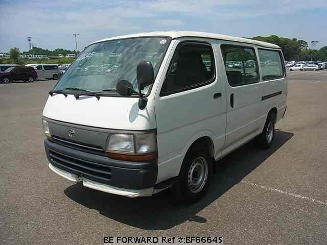 Used 1997 TOYOTA HIACE VAN BF66645 for Sale