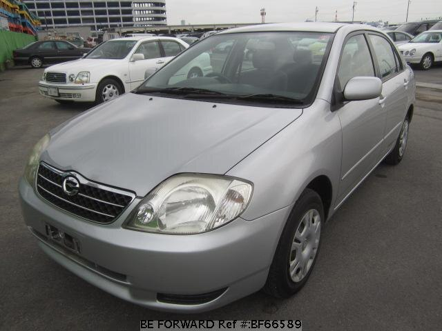 Used 2002 TOYOTA COROLLA SEDAN BF66589 for Sale