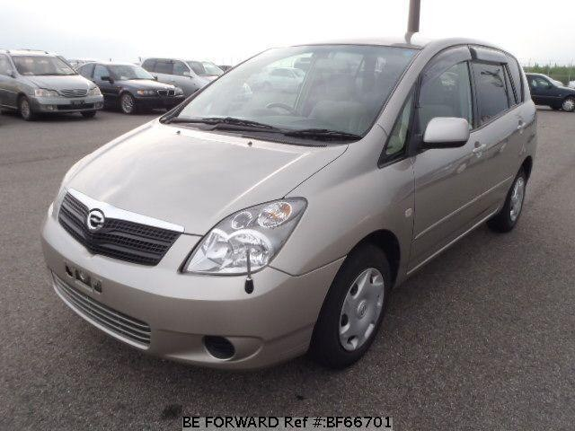 Used 2002 TOYOTA COROLLA SPACIO BF66701 for Sale