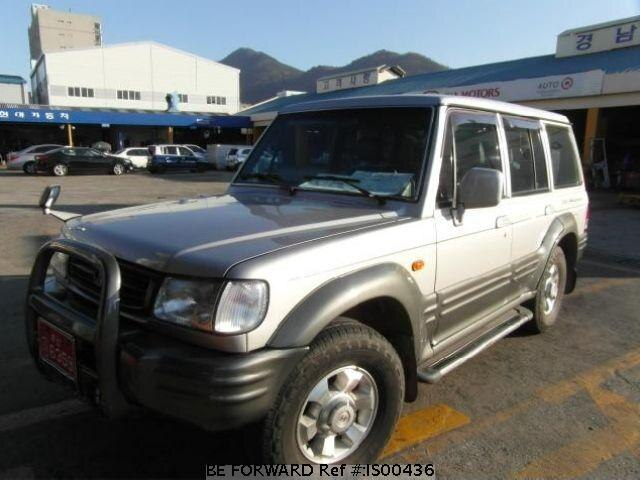 Used 2001 HYUNDAI GALLOPER IS00436 for Sale