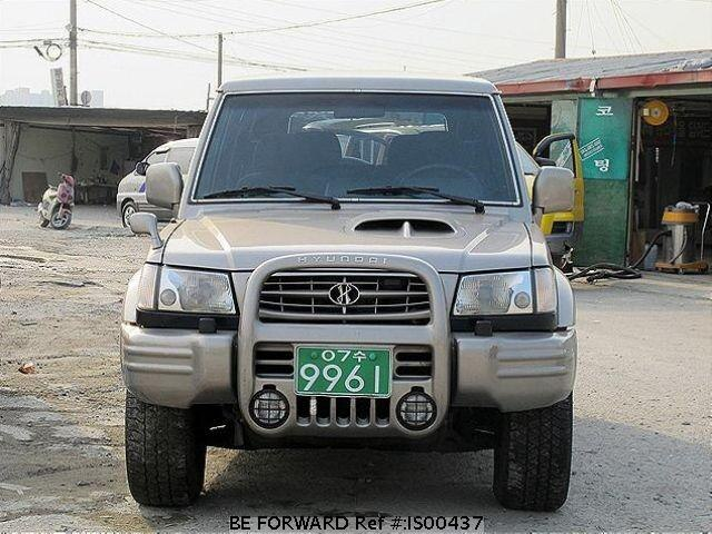 Used 1997 HYUNDAI GALLOPER IS00437 for Sale