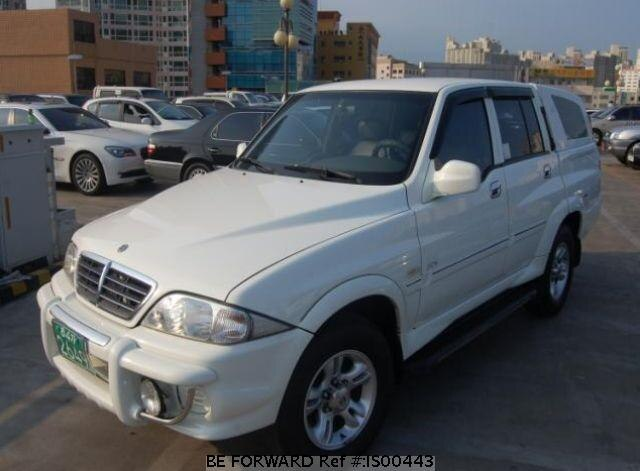 Used 2004 SSANGYONG MUSSO IS00443 for Sale