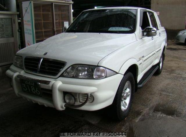 Used 2004 SSANGYONG MUSSO IS00444 for Sale
