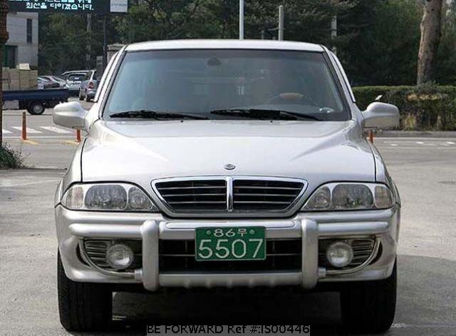 Used 2005 SSANGYONG MUSSO IS00446 for Sale