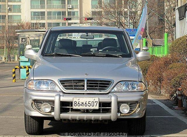 Used 2004 SSANGYONG MUSSO IS00447 for Sale