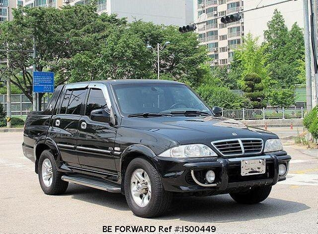 Used 2003 SSANGYONG MUSSO IS00449 for Sale