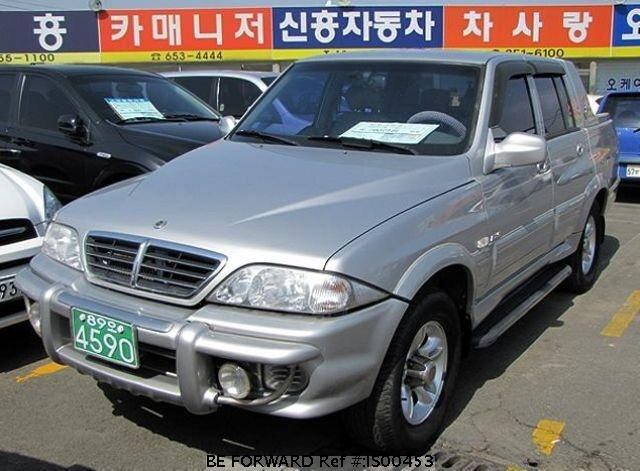 Used 2005 SSANGYONG MUSSO IS00453 for Sale