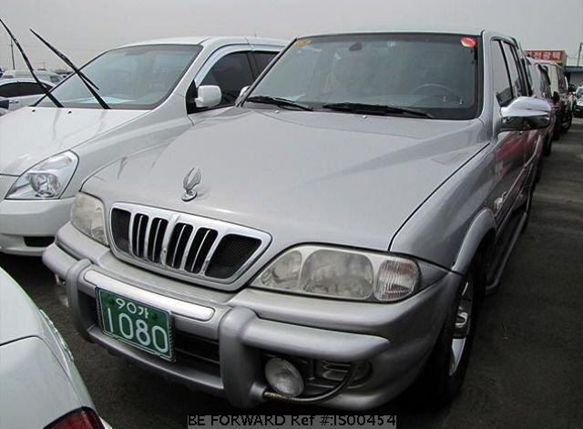 Used 2004 SSANGYONG MUSSO IS00454 for Sale