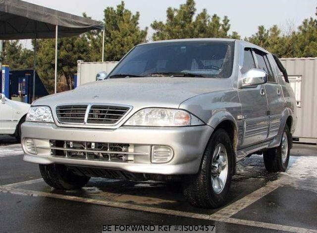 Used 2005 SSANGYONG MUSSO IS00457 for Sale