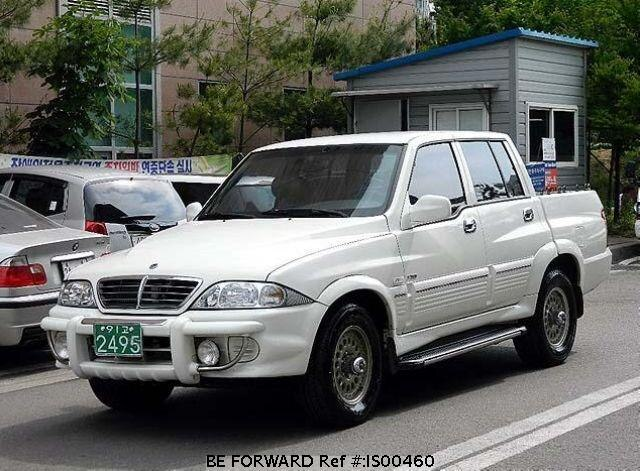 Used 2005 SSANGYONG MUSSO BF76497 for Sale